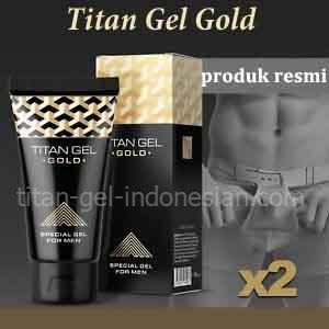 Titan Gel Gold produk resmi