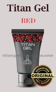 Titan Gel Red asli